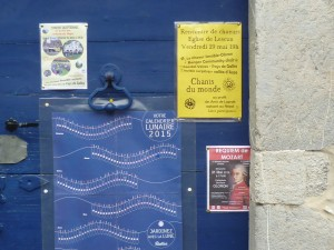 Lescun Posters advertising our concert
