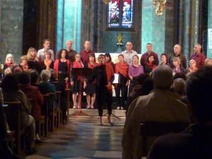 Oloron Concert choer Sensible