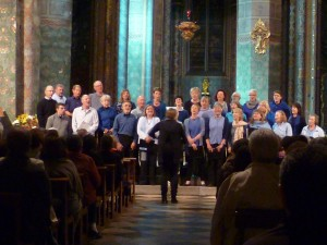 Oloron concert North Wales singers