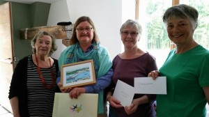 Presentation gifts and letters from our local councils