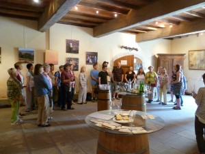 Singing in the Wine cellar- Jurancon region